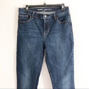 Old Navy curvy profile jean. Size 8